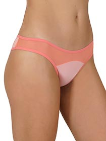 Kit Tanga Transpar�ncia Com 3 Pe�as