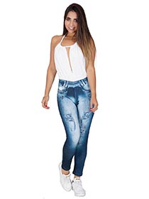 Cal�a Fitness Fake Jeans
