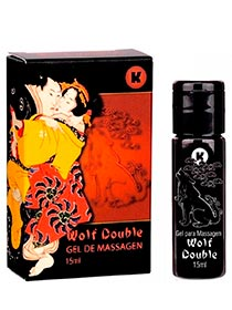 Excitante Gel Wolf Double 15 ml